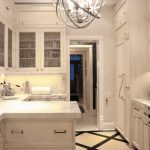 Peninsular Kitchen Candle Chandelier Cabinet With Glass Doors Drawers Recessed Lighting Under Cabinet Floor White Cabinets