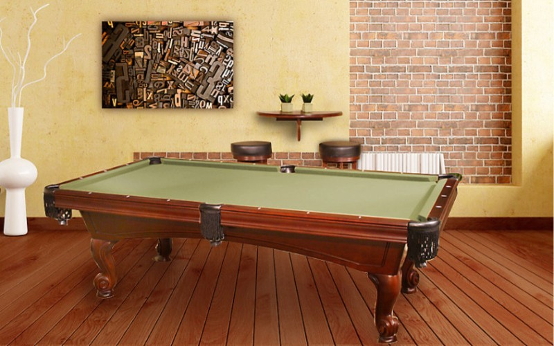 Swank Collection Of Pool Table Rooms Decohoms