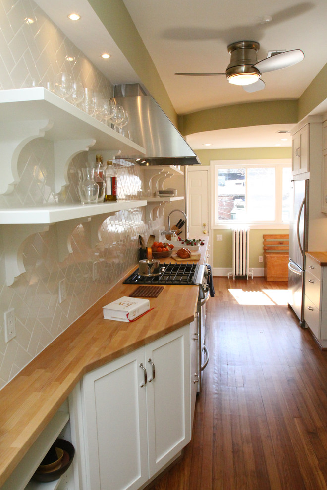 diy wooden shelf bracket white painted wooden brackets white wooden shelves white backsplash wooden countertop cabinets stove