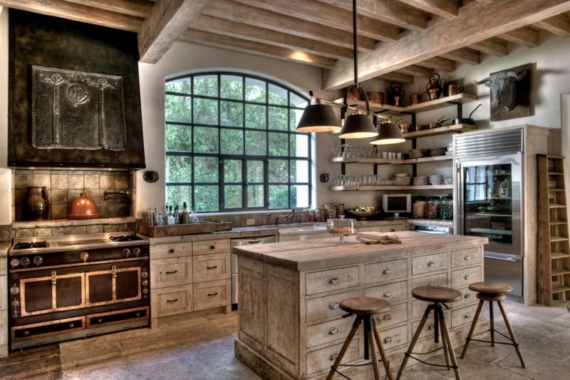 diy wooden shelf bracket wood shelves black steel bracket wooden island cabinets stove range hood bar stools pendant lamps