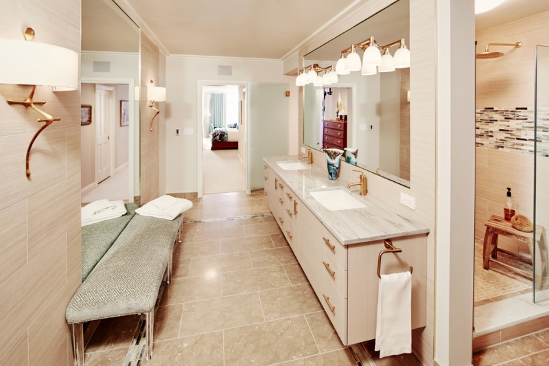 Awesome Double Vanity Wall Mirror Ideas To Be Amazed By