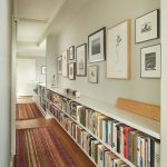 Home Library In The Hall
