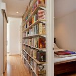 Home Library In The Hallway