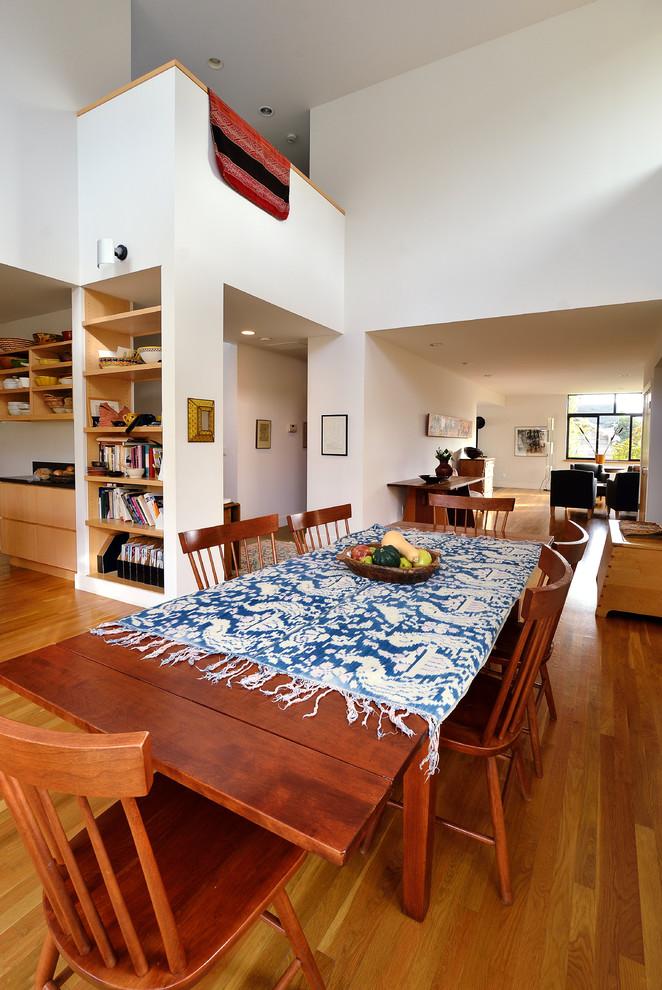 solid wood dining table sets mediterranean blue table cloth wooden chair wooden dining table built in bookshelves wooden floor