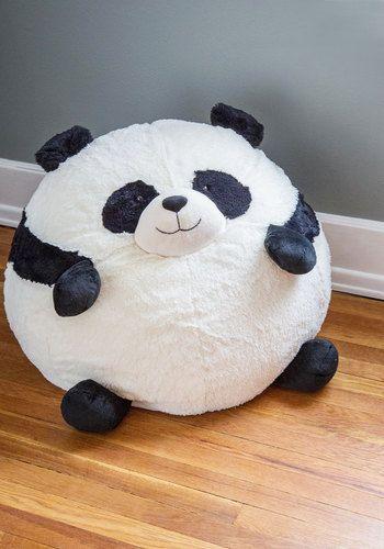 panda shaped bean bag