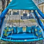 Swing Hammock Bed Blue Swing Hammock Bed Blue Satin Pillows Blue And Green Pillows Round Blue Hammock Bed Cushion Blue Drapes