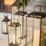 Jars With Clear Glass, Fairy Lights Inside