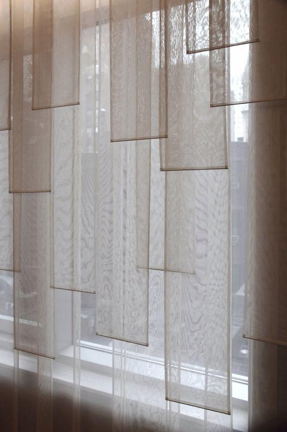 light shade banner curtains