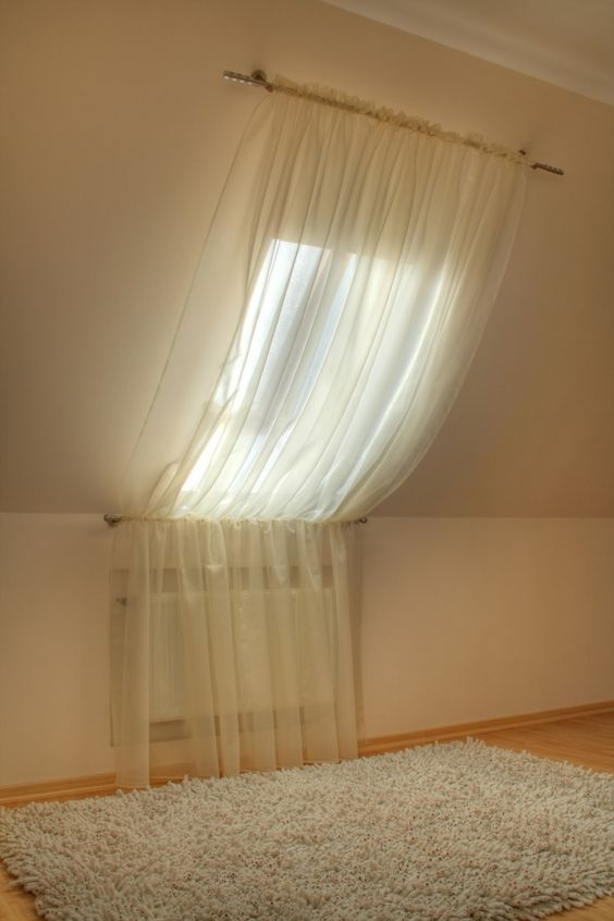 see through curtain for velux window