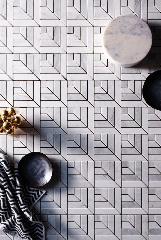 tiles with herringbone patterns for bathroom