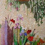 Mural With Mosaic With Plants Pictures