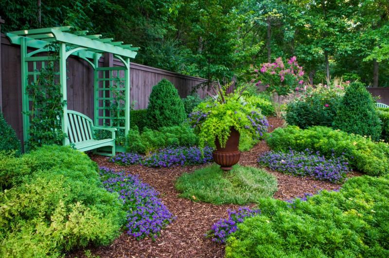 garden arbor ideas grass outdoor flower pot green wooden garden arbor green wooden outdoor bench with back small garden brown fence