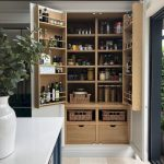 Two Door Antries With Shelves, Shelves On The Door, Shelves With Basket, Drawers