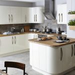 3 Ultra Modern Kitchen With Curvy Cabinets And Wooden Worktop