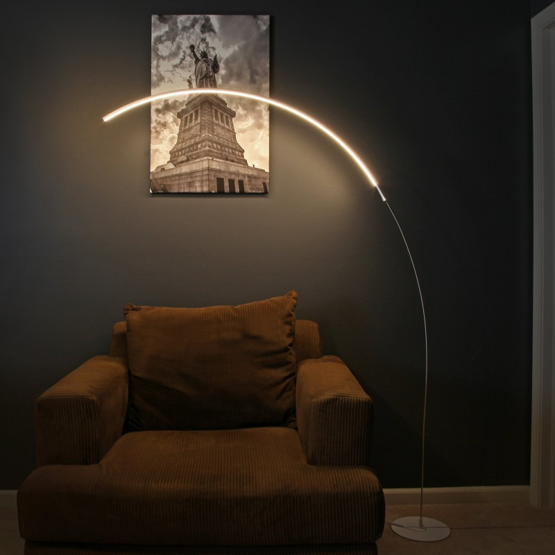 6 unusual led ached standing lamps simple and modern