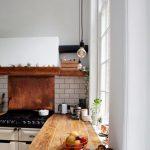 7 Concrete Raw Plate Wooden Kitchen Worktop