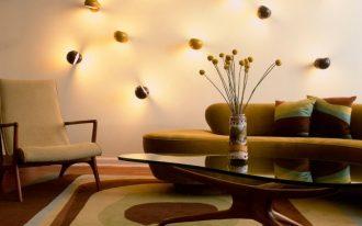 8 funky warm lighting wall lamps