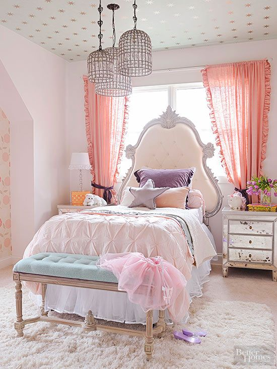 Ten Pretty Bed Platform For Girls Bedrooms Decohoms