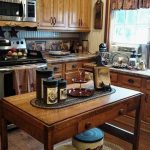 Kitchen, Wooden Floor, Wooden Cabinet, Marble Top, Wooden Table, Rug, Curtain