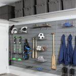 Grey Wooden Boards, Hanger, Basket, Shelve