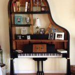 Wooden Piano Shelves