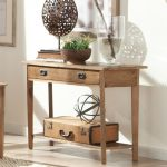 Rustic Console Table With Drawers Wall Drame White Wall Glass Decor Drawers Vintage Case Wooden Console Table Rug Brown Tile