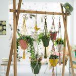 Wooden Racks For Pots Of Plants