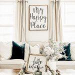 Living Room, White Curtain, White Sofa, White Table, White Wall