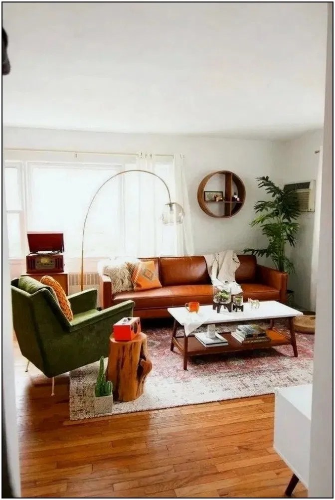 Decorating Warm And Comfortable Living Room For Fall