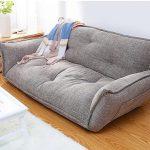 Living Room, Wooden Floor, White Floor Rug, Grey Floor Sofa, White Wall