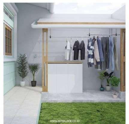 laundry room, white floor, white wall, white cabinet