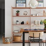 Study, Wooden Table, Wooden Chairs, White Wall, Wooden Bookshelves