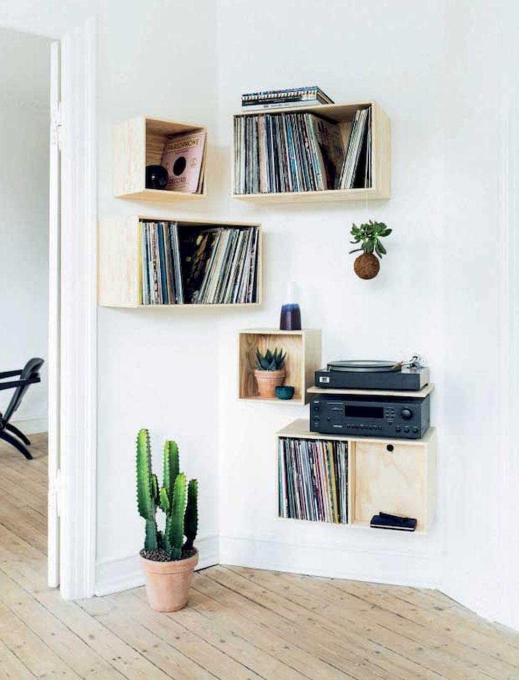 wooden decorative shelves, parted